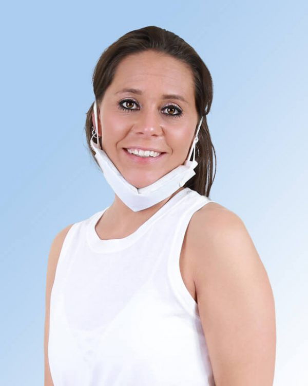 SMI Face Wrap on the Chin
